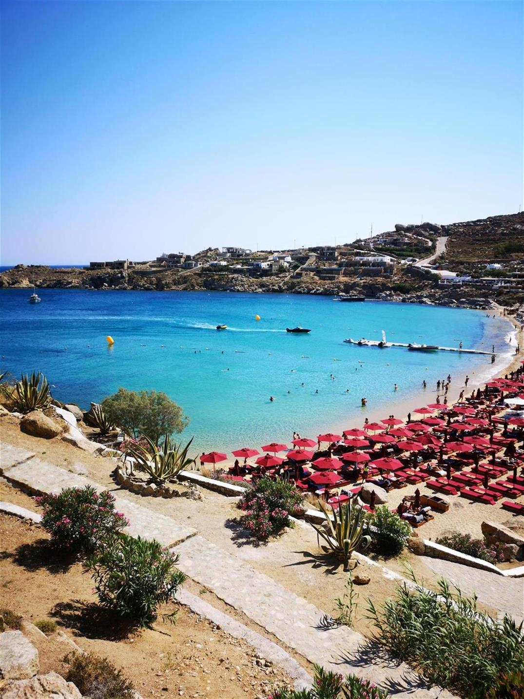 Outstanding Travel The Gay Beach Manuel To Greece